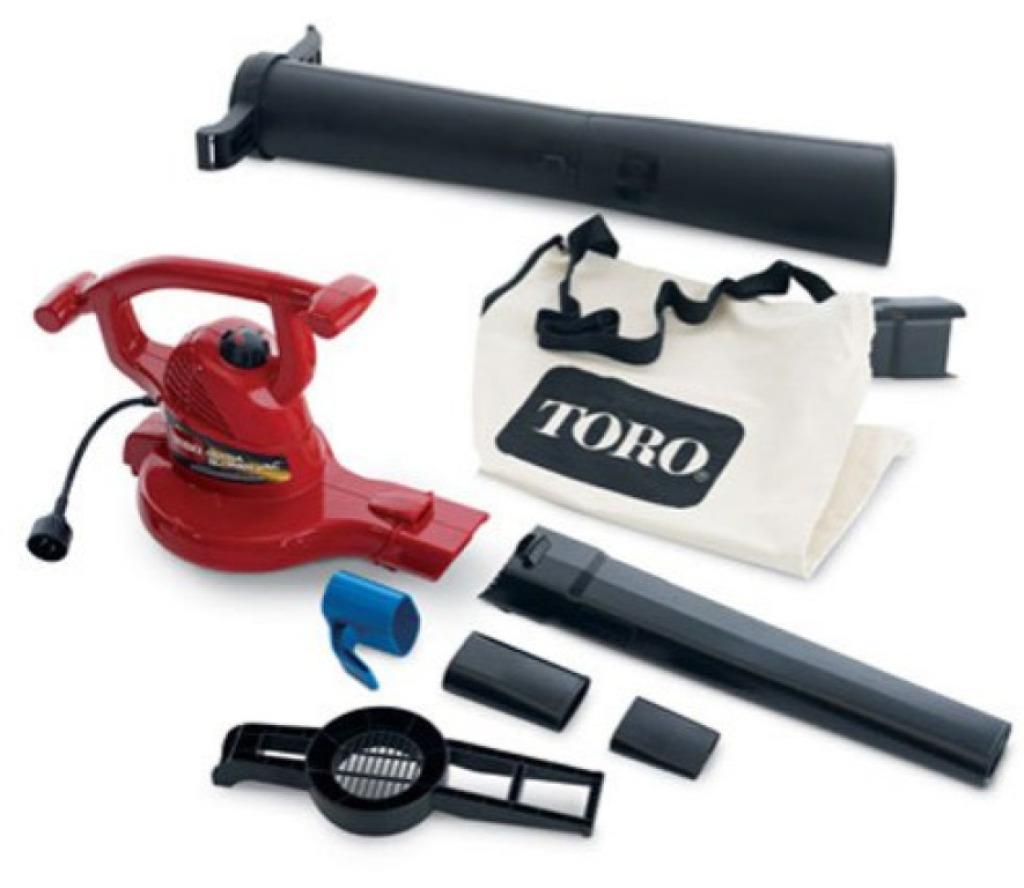 Toro 51619 Ultra Electric Blower Vac 250 MPH magnesium leaf